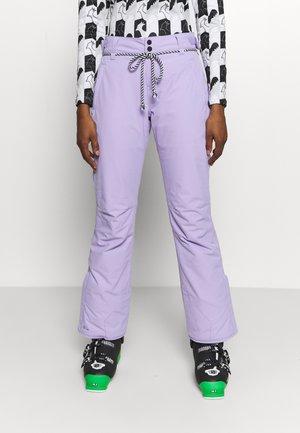 SUNLEAF WOMEN SNOWPANTS - Spodnie narciarskie - lavender