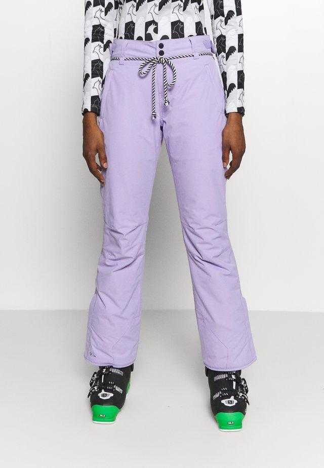 SUNLEAF WOMEN SNOWPANTS - Zimní kalhoty - lavender