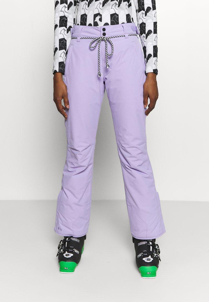 Brunotti - SUNLEAF WOMEN SNOWPANTS - Snow pants - lavender