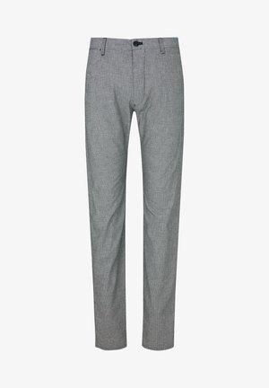 STEEN - Trousers - navy-weiß