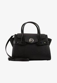 MICHAEL Michael Kors - CARMENLG FLAP BELTED SATCHEL - Handbag - black - 5