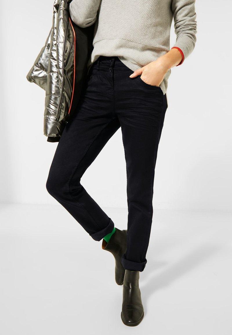 Cecil - Slim fit jeans - schwarz