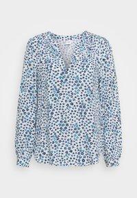 GAP - ZEN NECK - Long sleeved top - blue - 0