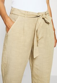 Opus - MAYLA - Trousers - natural beige - 3