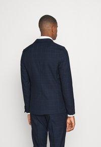 Isaac Dewhirst - BLUE CHECK - Kostym - blue - 3