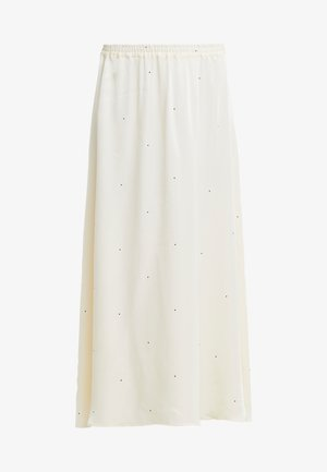 KEVIN SKIRT - Maxi skirt - yellow/black