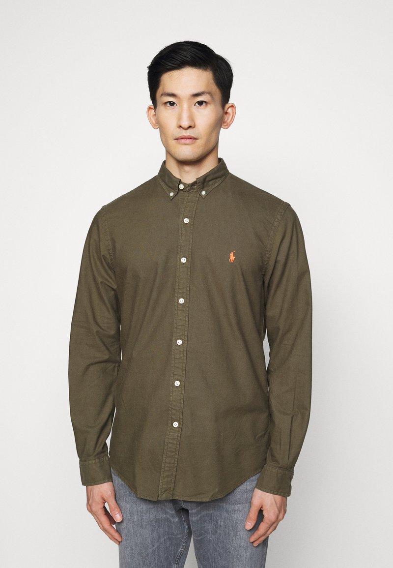 Polo Ralph Lauren - SLIM FIT OXFORD SHIRT - Koszula - defender green