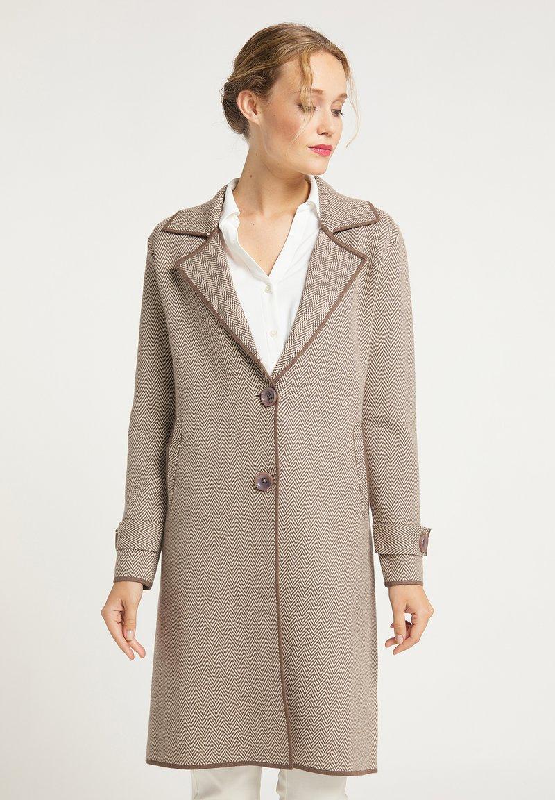 usha - Krótki płaszcz - taupe
