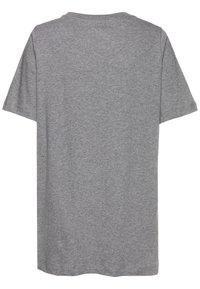 Nike Sportswear - FUTURA ICON - Print T-shirt - carbon heather/white - 1