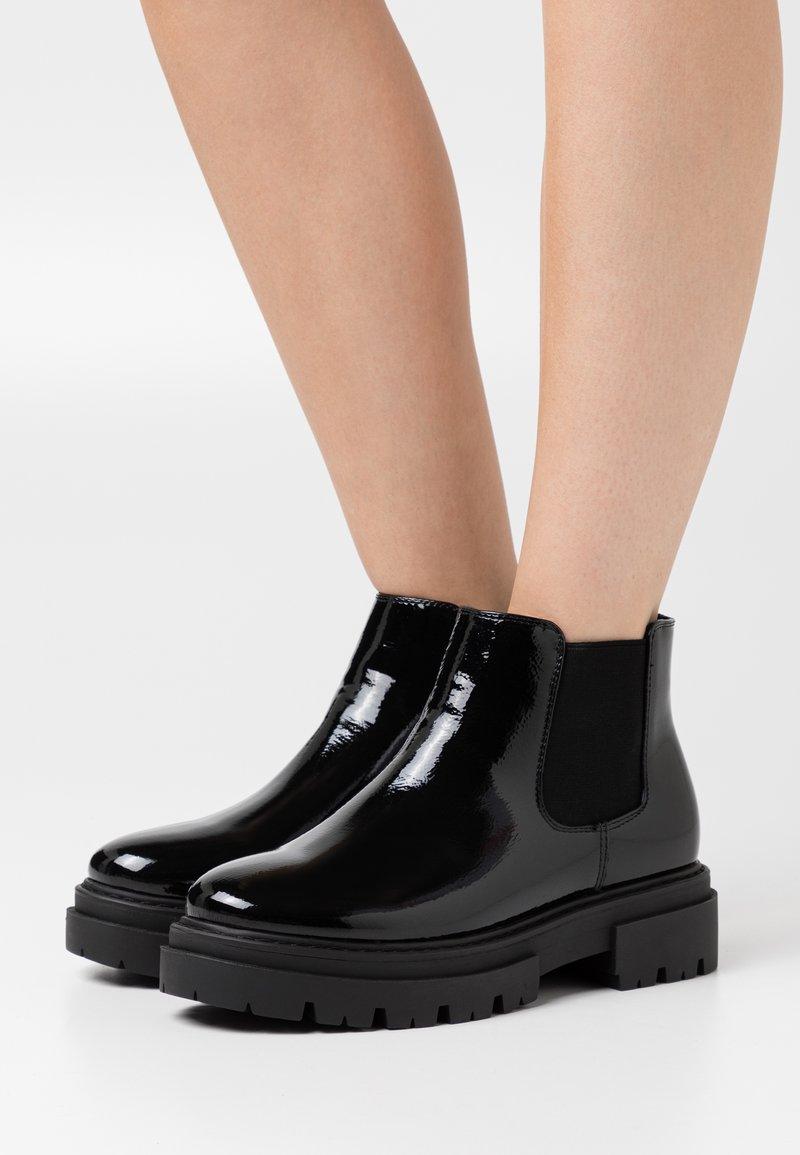Glamorous Wide Fit - Kotníková obuv - black