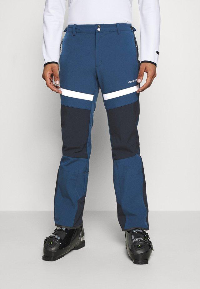 FLEMING - Pantalon de ski - blue