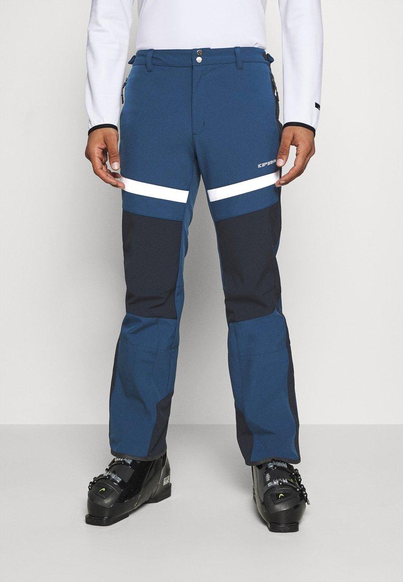 Icepeak - FLEMING - Snow pants - blue