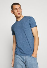Tommy Jeans - ESSENTIAL JASPE TEE - T-shirt basic - audacious blue - 0