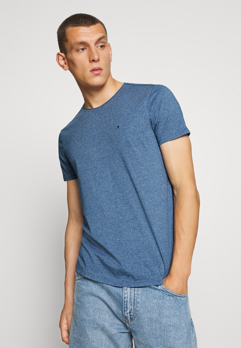 Tommy Jeans - ESSENTIAL JASPE TEE - T-shirt basic - audacious blue