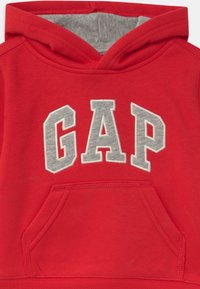 GAP - TODDLER BOY LOGO - Bluza z kapturem - red wagon - 2
