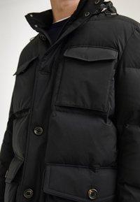 Massimo Dutti - LANGE MIT TASCHEN - Winter coat - dark blue - 4