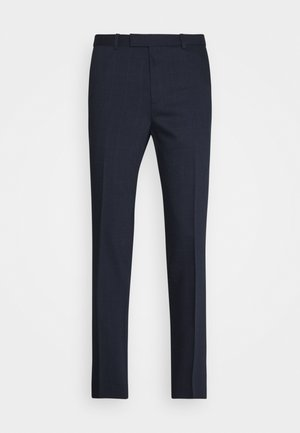 HEIRO - Oblekové kalhoty - dark blue