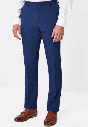 Oblekové kalhoty - royal blue