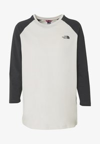 The North Face - WOMENS CORREIA TEE - Topper langermet - vintage white - 3