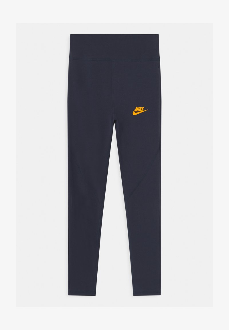 Nike Sportswear - FAVORITES - Legging - obsidian/university gold