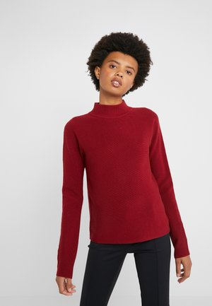 SIDRIANNY - Jumper - open red