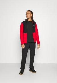 The North Face - GLACIER FULL ZIP JACKET  - Fleece jacket - red/black - 1