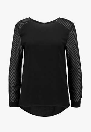 OBJZOE TOP PETIT - Blouse - black