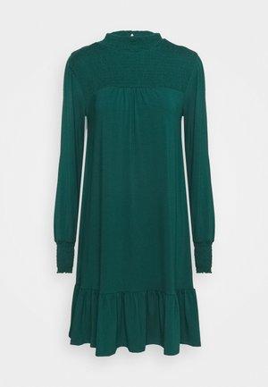 BLACKSHIRRED DRESS - Jersey dress - green
