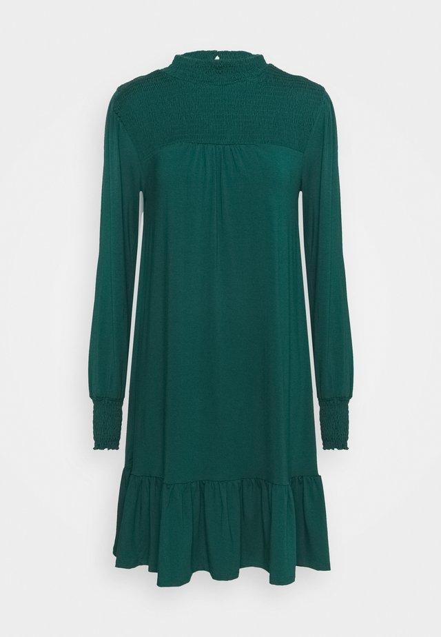 BLACKSHIRRED DRESS - Jerseyjurk - green