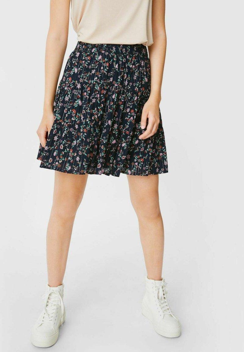 C&A - A-line skirt - black