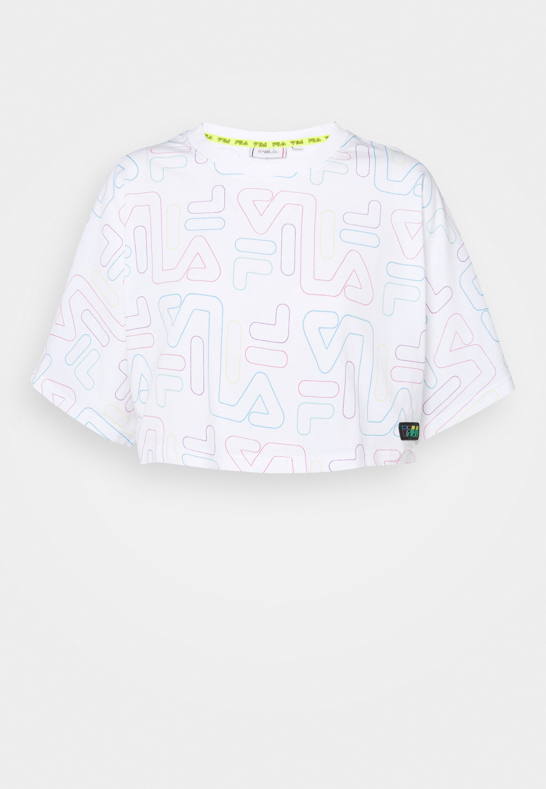 Women SUSAN WIDE CROPPED TEE - Print T-shirt