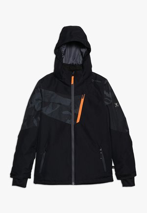 DAKOTO BOYS SNOWJACKET - Snowboardová bunda - black