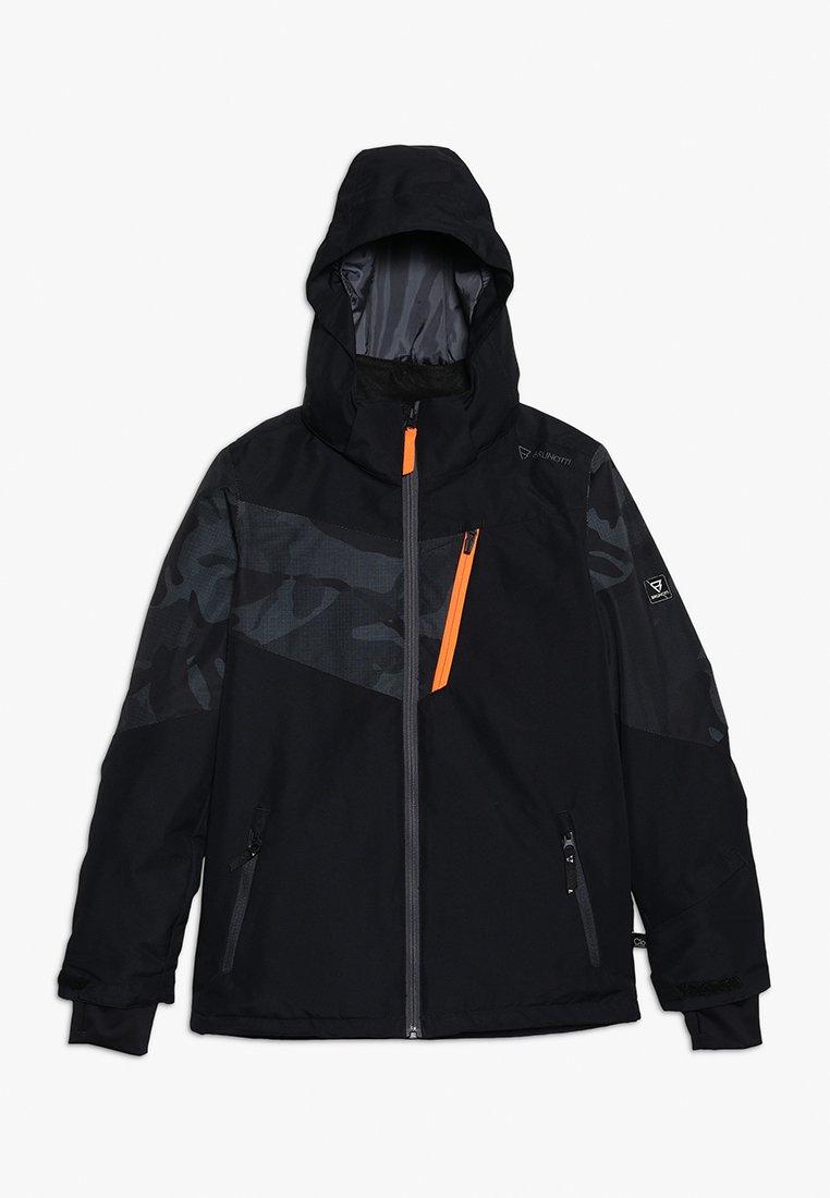 Brunotti - DAKOTO BOYS SNOWJACKET - Snowboard jacket - black