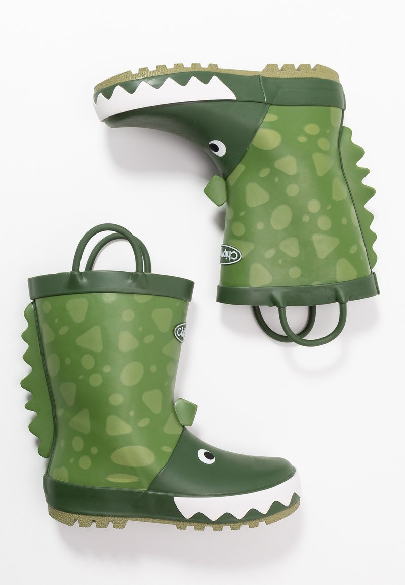 Chipmunks - DARCY - Wellies - green