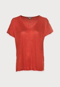 SLUB - Basic T-shirt - rooibos orange