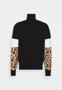 Versace Jeans Couture - SPORTY - Felpa - black/brown - 1