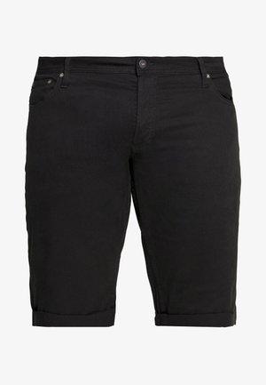 JJIRICK ORG SHORT AKM 799 PS - Szorty jeansowe - black