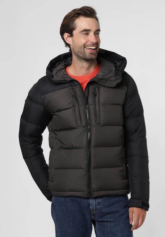Down jacket - anthrazit schwarz