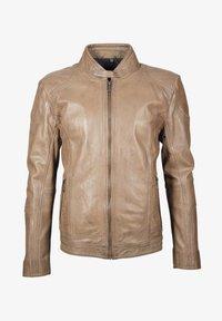 deercraft - CIEL LAAV - Veste en cuir - stone - 5