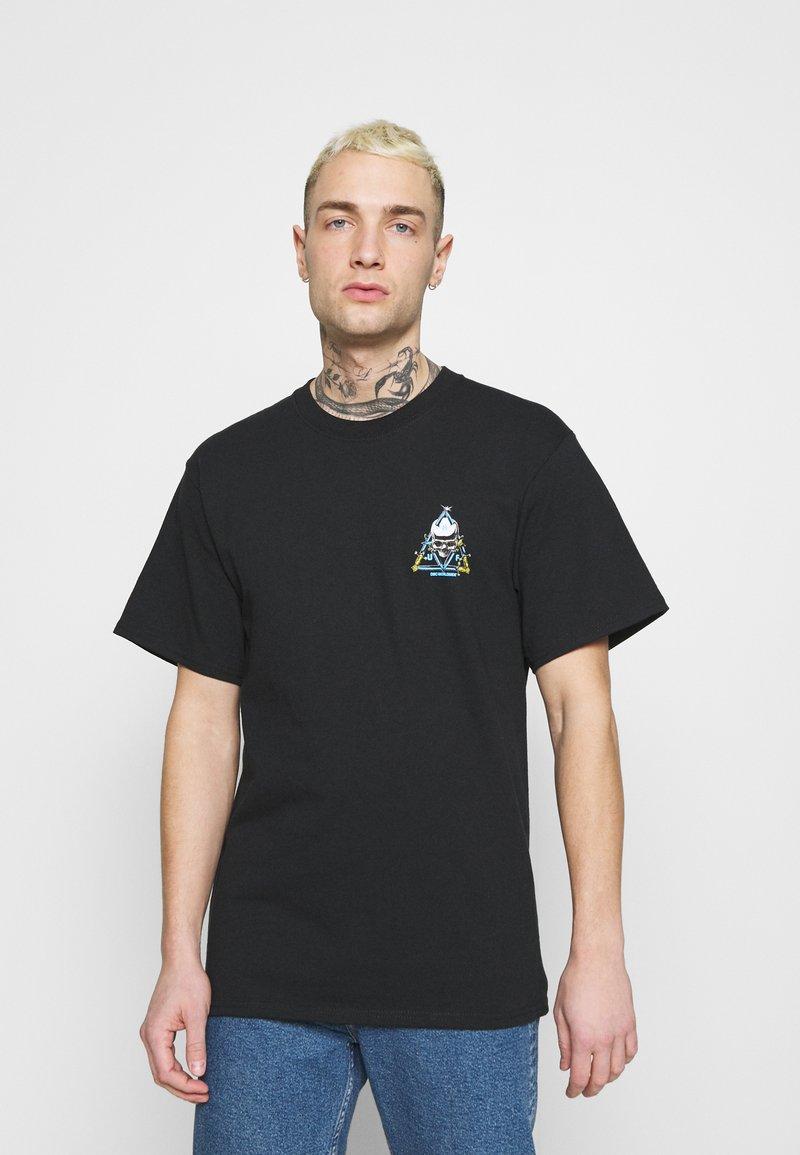 HUF - Print T-shirt - black