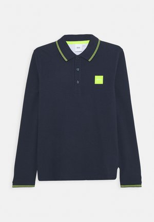 LONG SLEEVE - Polo shirt - navy