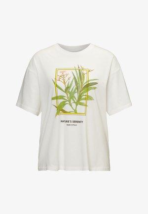 T-shirt print - multi/white