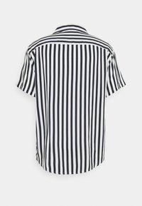 Zign - UNISEX - Button-down blouse - dark blue/white - 1