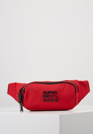 SMALL BUMBAG - Ledvinka - rouge red