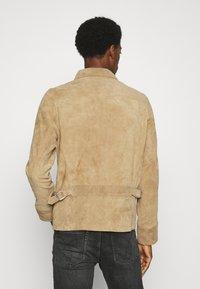 Schott - Leather jacket - rust - 2