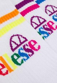 Ellesse - PULLO UNISEX 3 PACK - Socks - white - 2