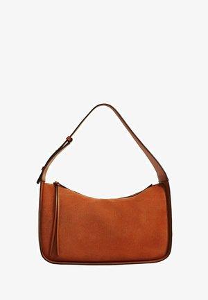 Handbag - bräunliches orange