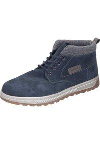 Rieker - Lace-up ankle boots - pazifik/granit/polvere - 1