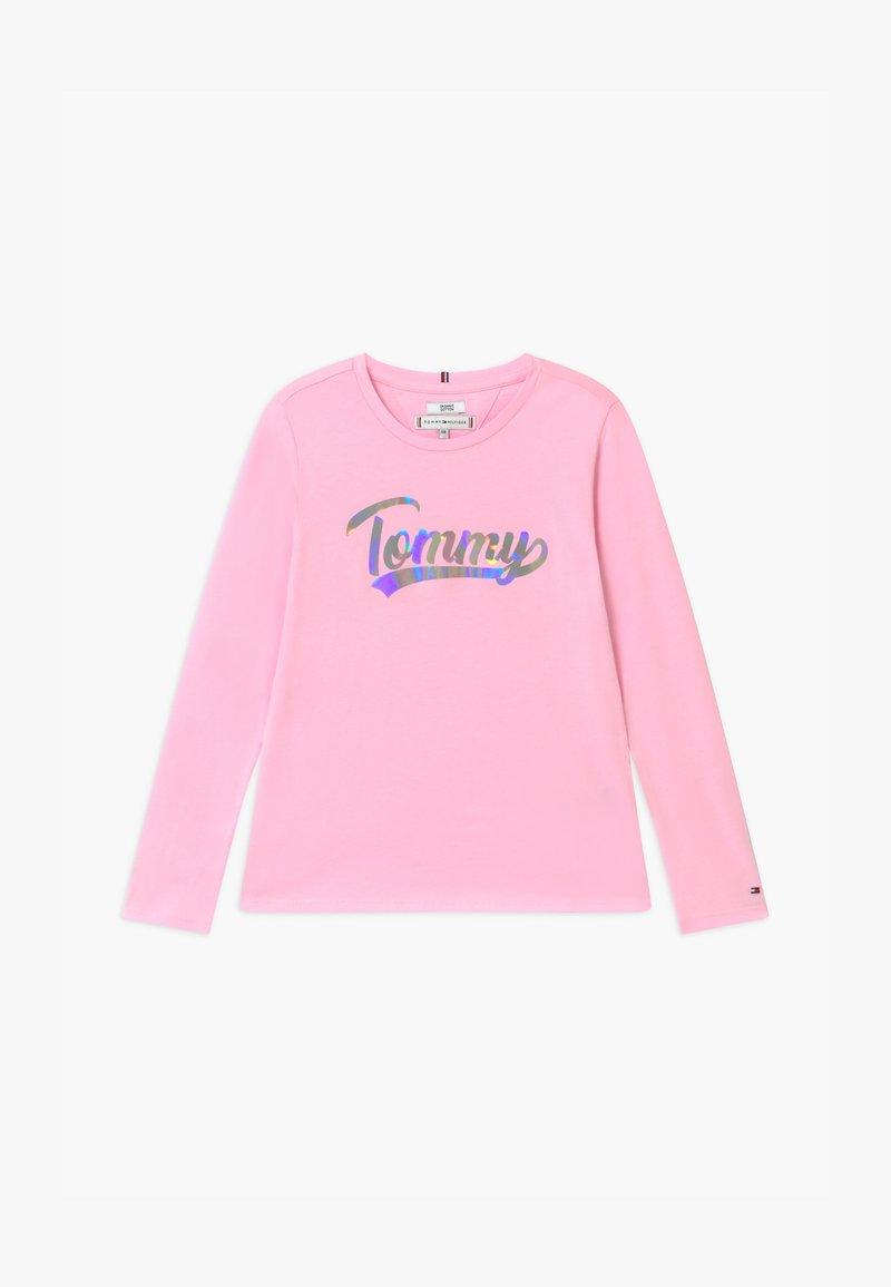 Tommy Hilfiger - SCRIPT FILM - Top sdlouhým rukávem - pink