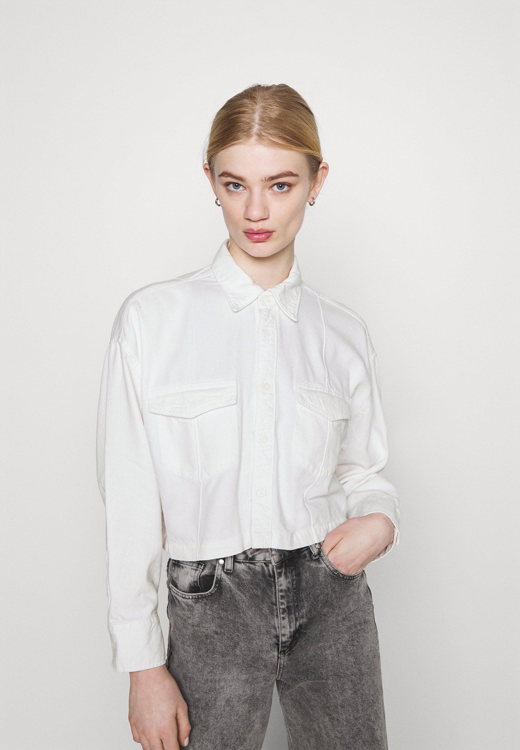 Women LMC RELAXED SHIRT - Button-down blouse